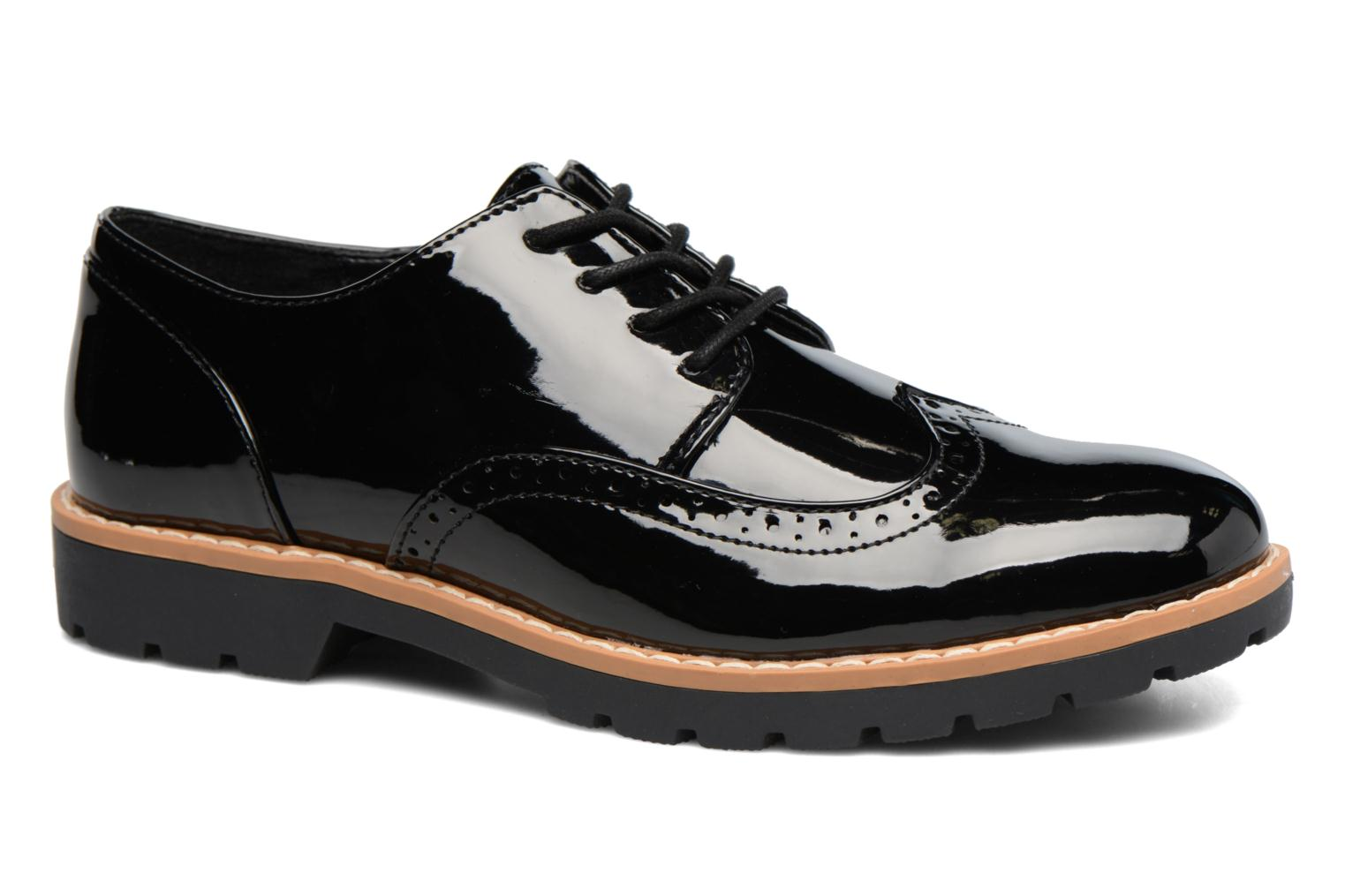 Lace-up shoes I Love Shoes FANELY Black detailed view/ Pair view