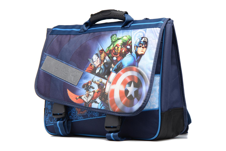 Per la scuola Avengers Cartable 38cm Azzurro modello indossato