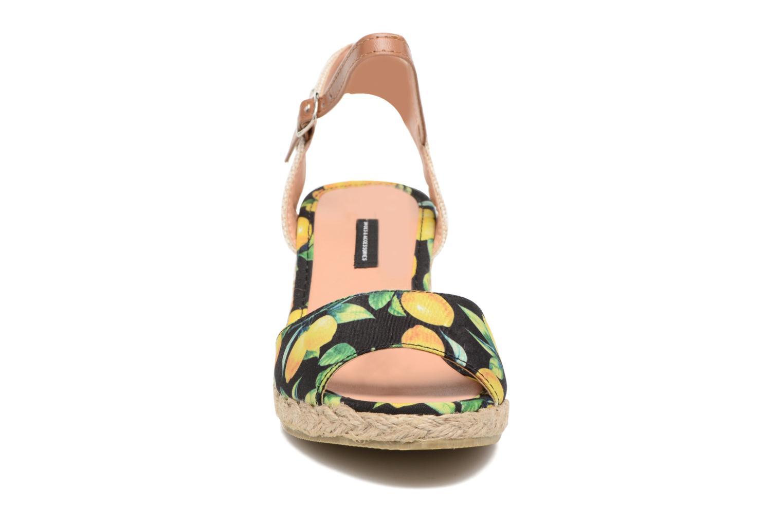 Espadrilles MTNG Verano 53521 Noir vue portées chaussures