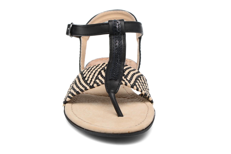 Sandales et nu-pieds MTNG Brush 53533 Noir vue portées chaussures