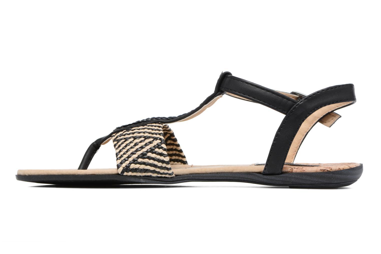 Sandales et nu-pieds MTNG Brush 53533 Noir vue face