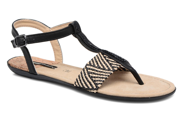 Sandales et nu-pieds MTNG Brush 53533 Noir vue détail/paire