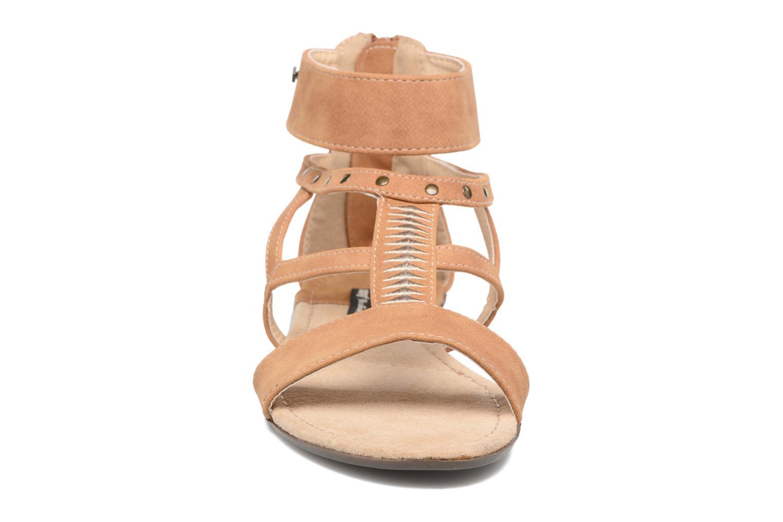 Sandales et nu-pieds MTNG Tribal 53535 Beige vue portées chaussures