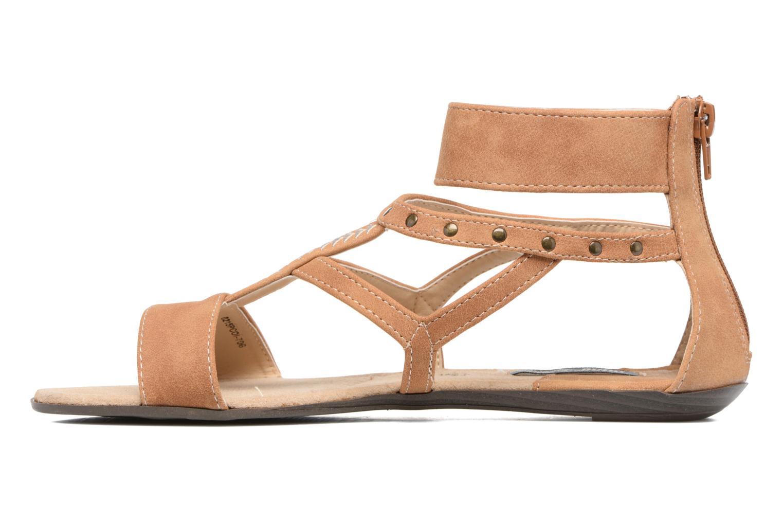 Sandales et nu-pieds MTNG Tribal 53535 Beige vue face