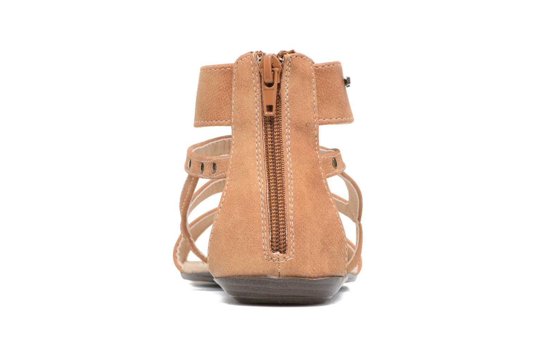 Sandales et nu-pieds MTNG Tribal 53535 Beige vue droite