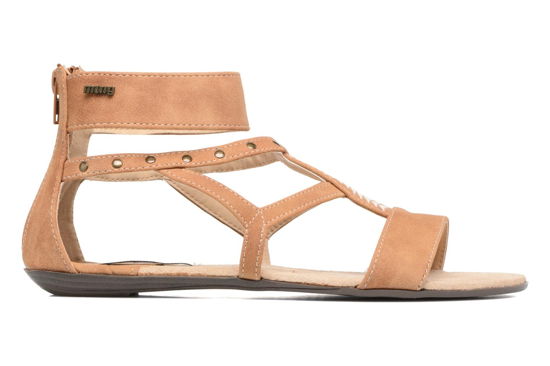 Sandales et nu-pieds MTNG Tribal 53535 Beige vue derrière