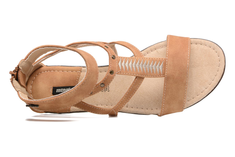 Sandales et nu-pieds MTNG Tribal 53535 Beige vue gauche