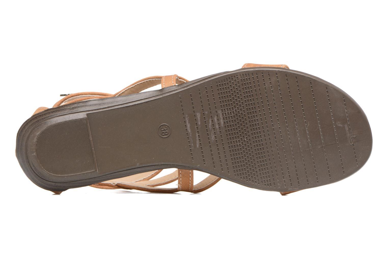 Sandales et nu-pieds MTNG Tribal 53535 Beige vue haut