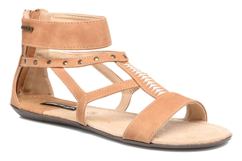 Sandales et nu-pieds MTNG Tribal 53535 Beige vue détail/paire
