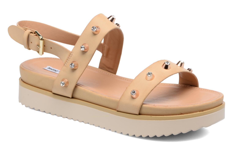 Sandaler MTNG Clou 53937 Beige detaljeret billede af skoene