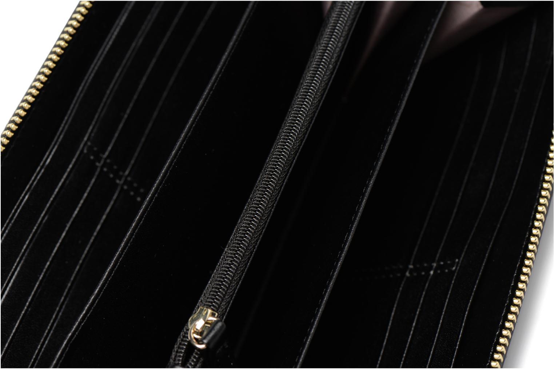 Petite Maroquinerie Guess Portefeuille Large Zip Around Aria Noir vue gauche