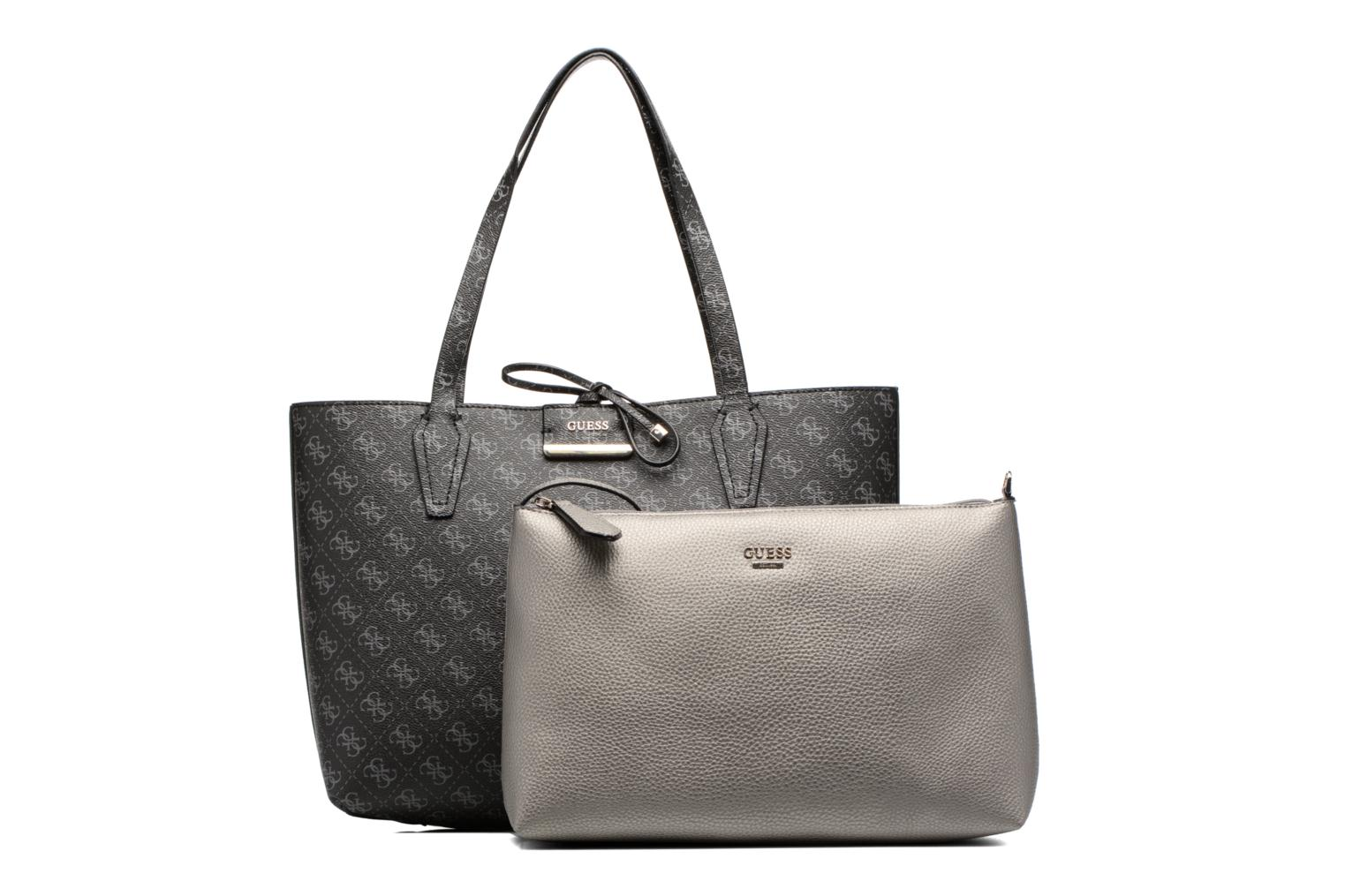 Cabas Reversible Bobbi Logo allover LOGO/PEWTER-LPE