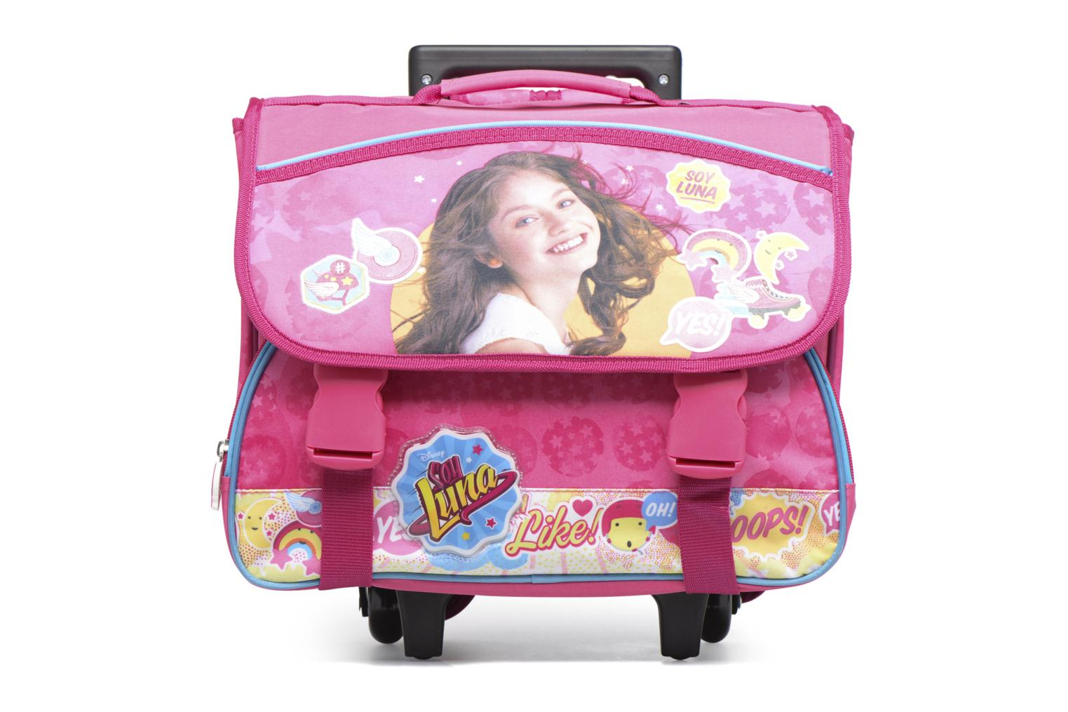 Cartable 38cm Trolley Rose