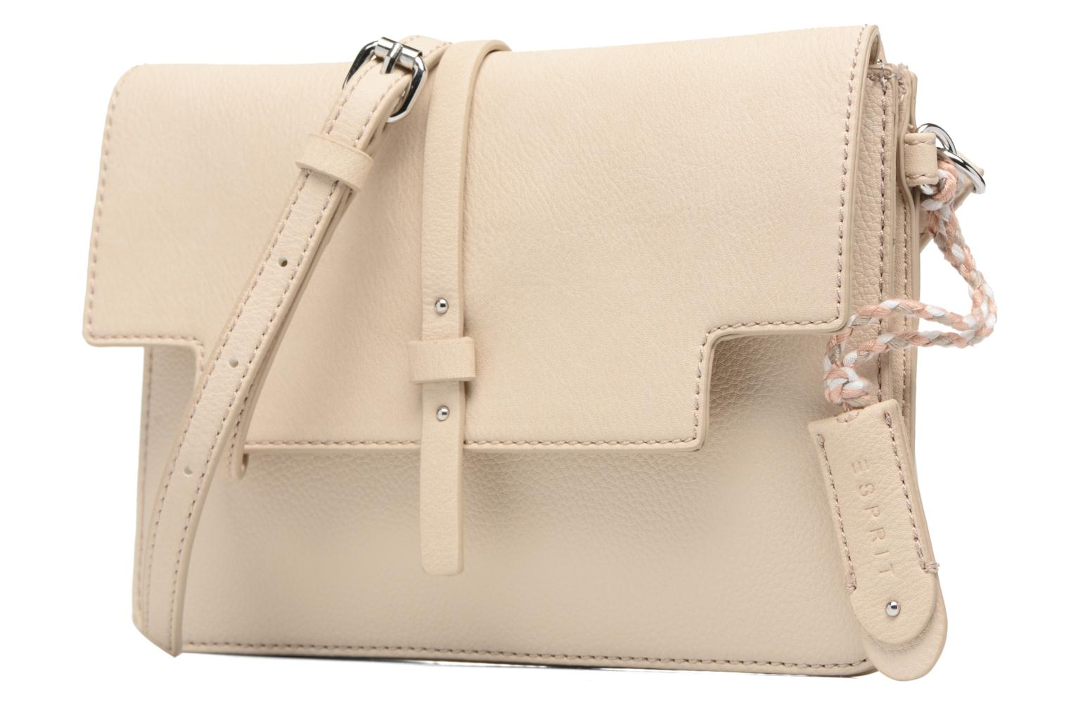Handbags Esprit Tracy Shoulderbag Beige model view