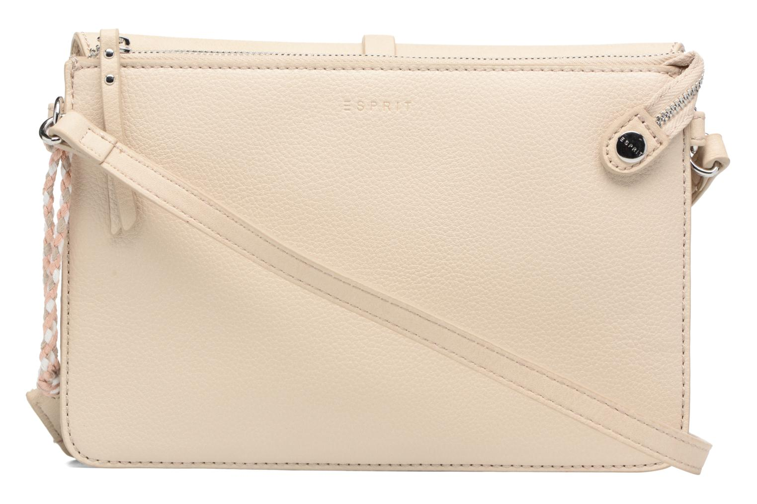 Handbags Esprit Tracy Shoulderbag Beige front view