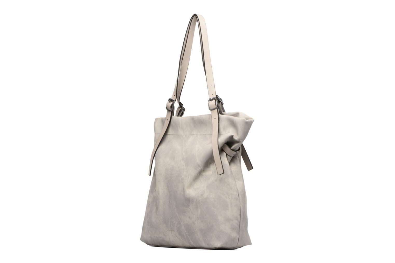 Borse Esprit Tara Shopper Grigio modello indossato