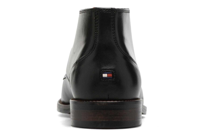 Chaussures à lacets Tommy Hilfiger Daytona 2A Noir vue droite