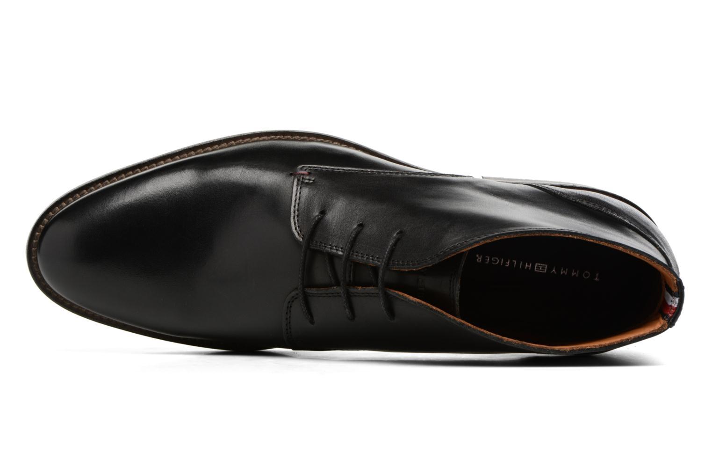 Chaussures à lacets Tommy Hilfiger Daytona 2A Noir vue gauche