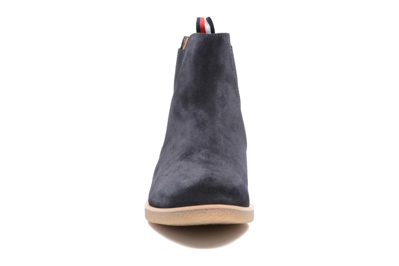 Bottines et boots Tommy Hilfiger William 2B Bleu vue portées chaussures