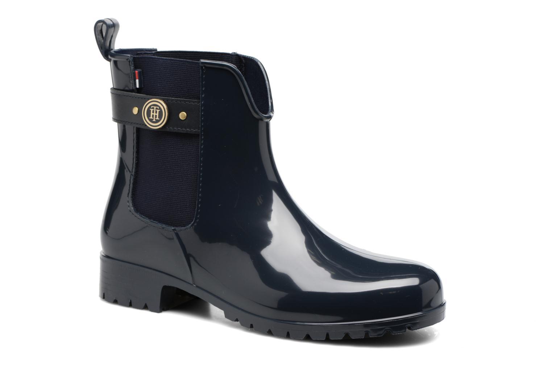 Bottines et boots Tommy Hilfiger Oxley 13R Bleu vue détail/paire