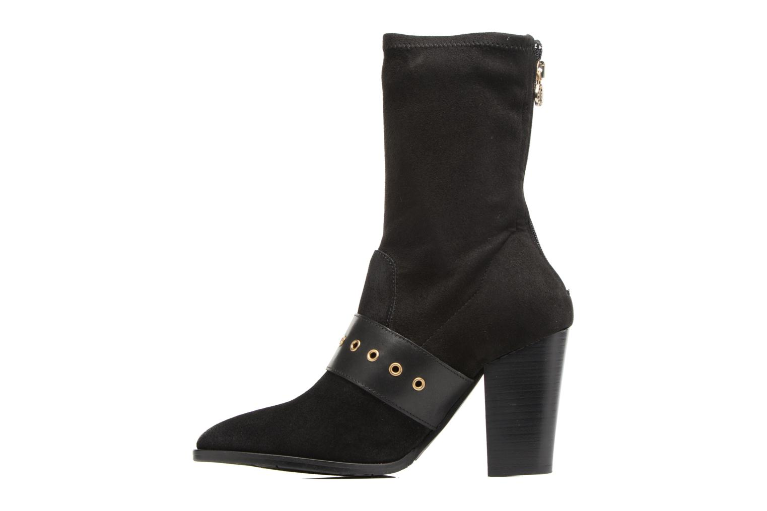 Gigi Hadid Heeled Boot Black