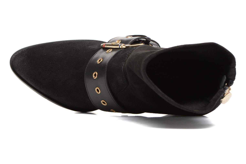 Bottes Tommy Hilfiger Gigi Hadid Heeled Boot Noir vue gauche