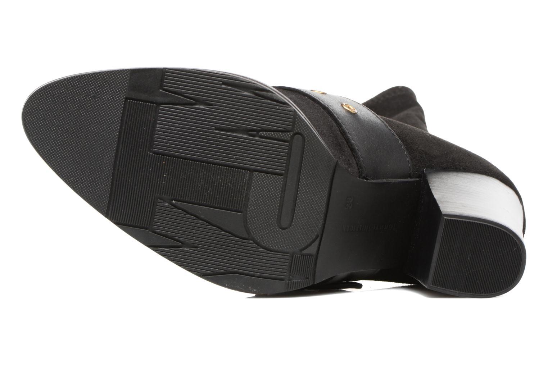 Stiefel Tommy Hilfiger Gigi Hadid Heeled Boot schwarz ansicht von oben