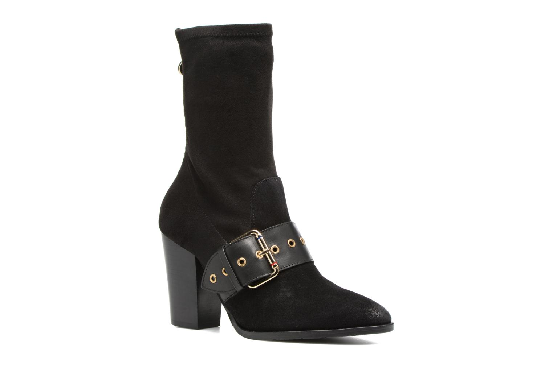 Bottes Tommy Hilfiger Gigi Hadid Heeled Boot Noir vue détail/paire