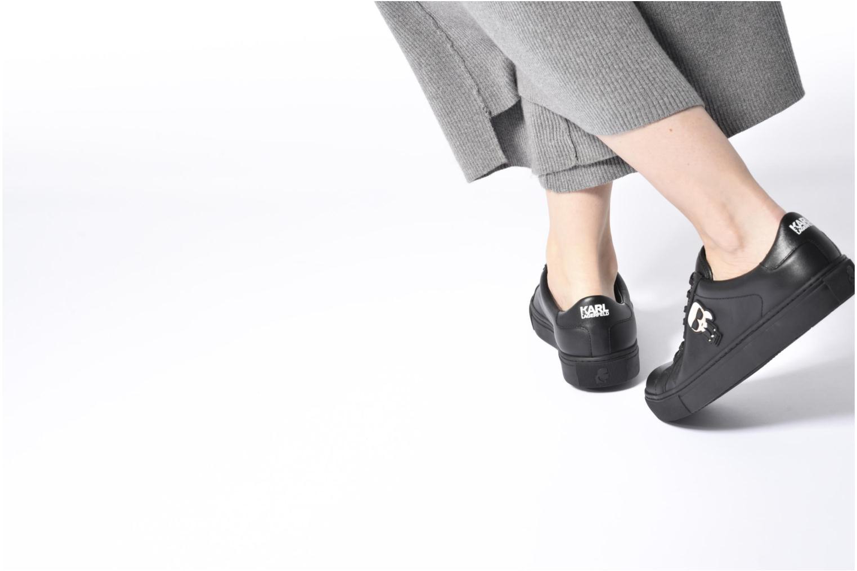 Sneakers Karl Lagerfeld Kupsole Karl Ikonik Lo Lace Svart bild från under