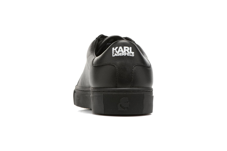 Deportivas Karl Lagerfeld Kupsole Karl Ikonik Lo Lace Negro vista lateral derecha