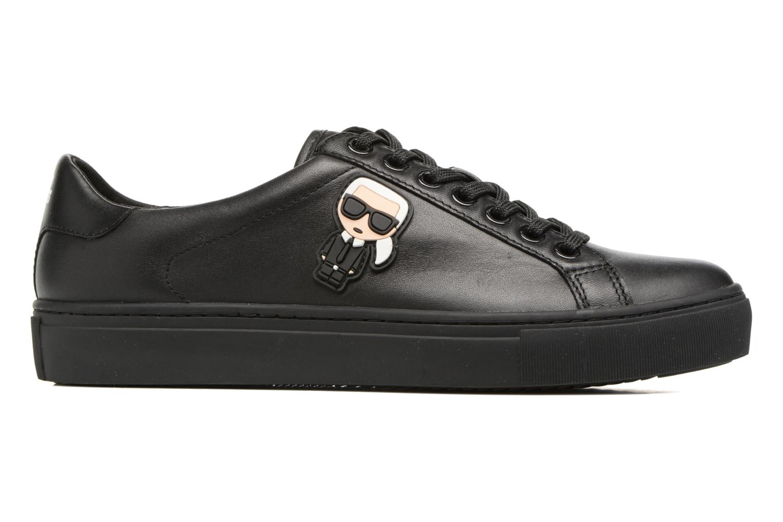 Sneakers Karl Lagerfeld Kupsole Karl Ikonik Lo Lace Svart bild från baksidan