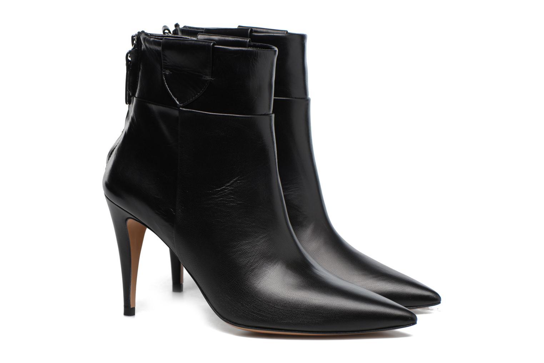 Bottines et boots Pura Lopez BNAL170 Noir vue 3/4