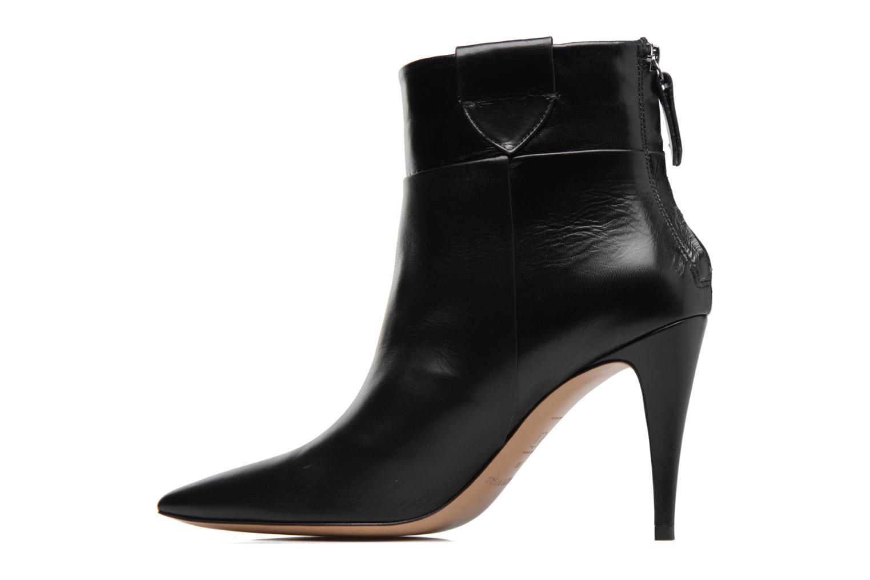 Boots en enkellaarsjes Pura Lopez BNAL170 Zwart voorkant