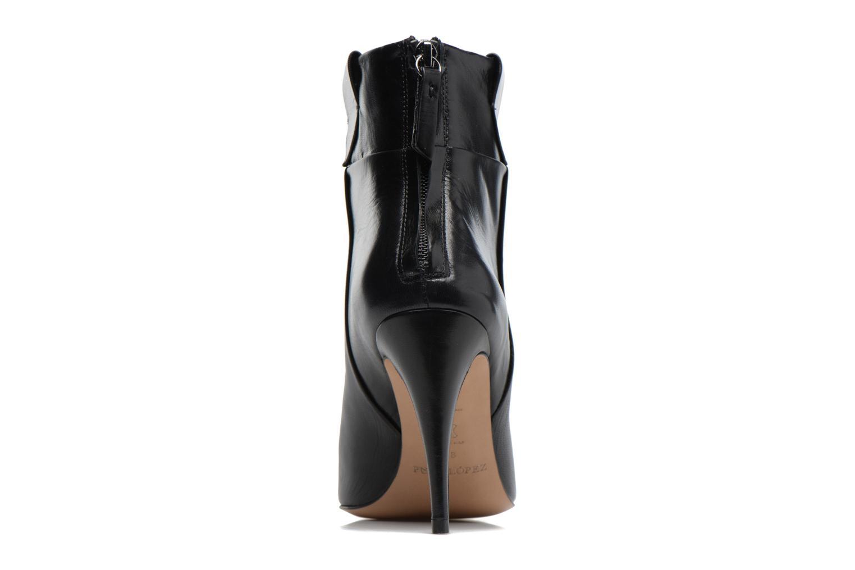 Boots en enkellaarsjes Pura Lopez BNAL170 Zwart rechts