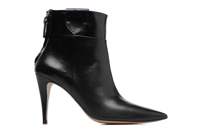 Boots en enkellaarsjes Pura Lopez BNAL170 Zwart achterkant