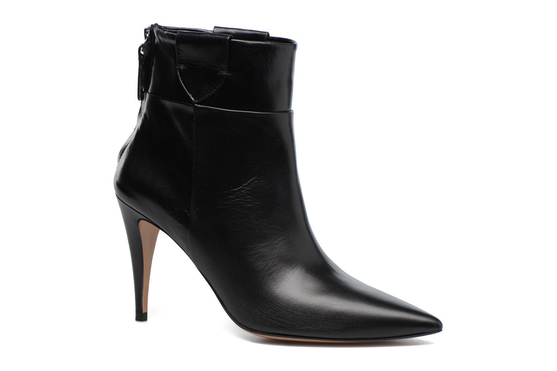 Boots en enkellaarsjes Pura Lopez BNAL170 Zwart detail
