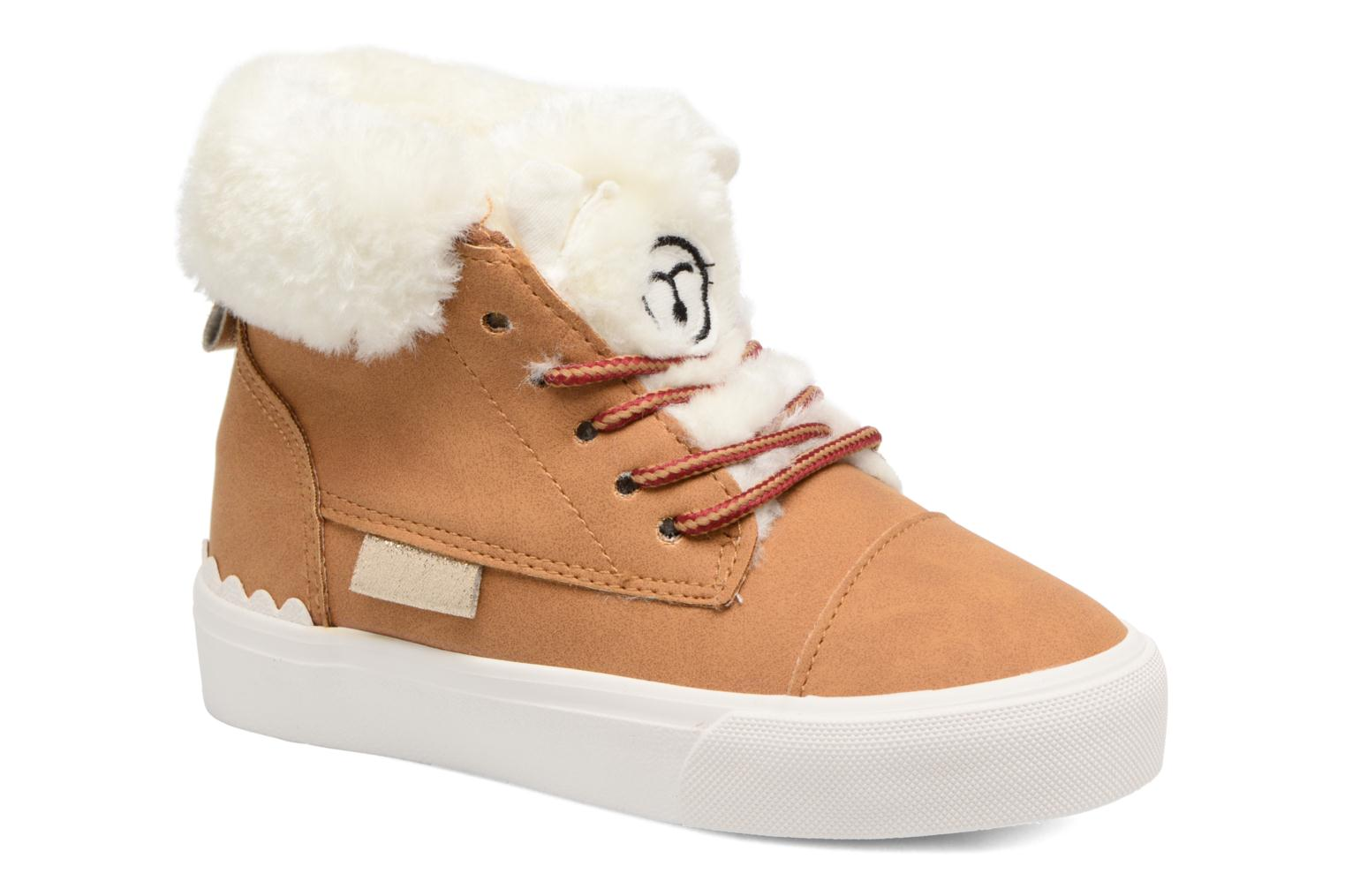 Sneakers I Love Shoes THULYE Bruin detail