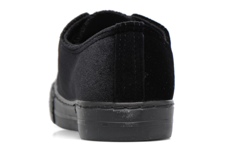 Deportivas I Love Shoes THYSAL Negro vista lateral derecha