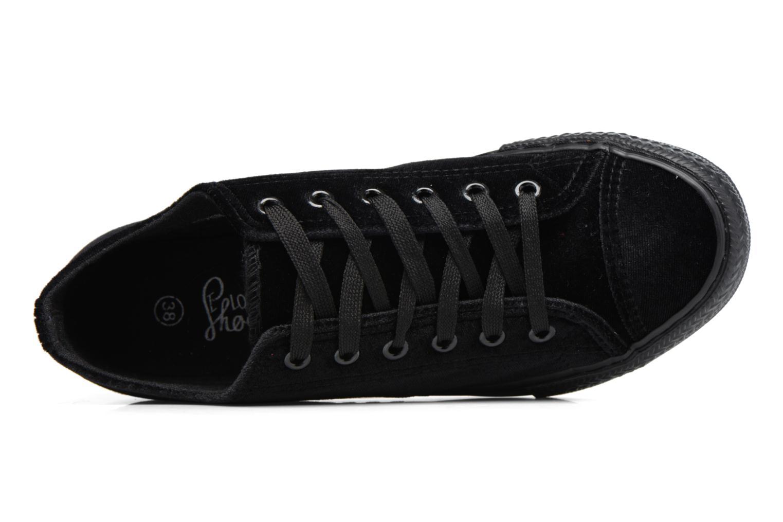 Deportivas I Love Shoes THYSAL Negro vista lateral izquierda