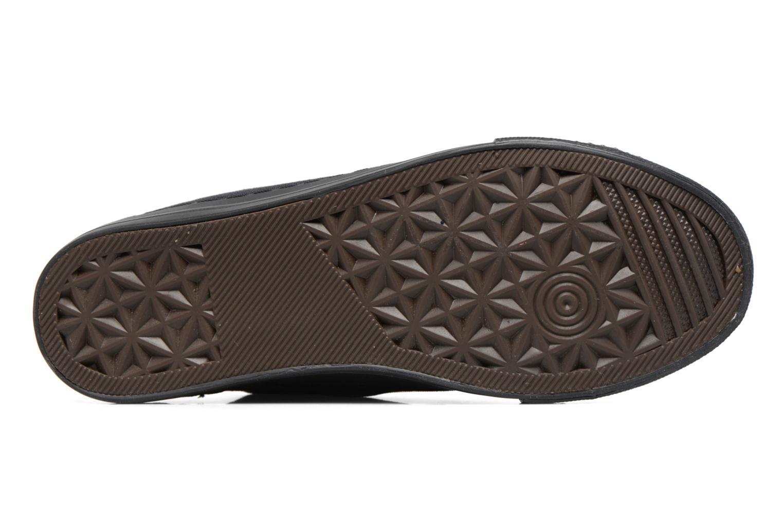 Baskets I Love Shoes THYSAL Noir vue haut