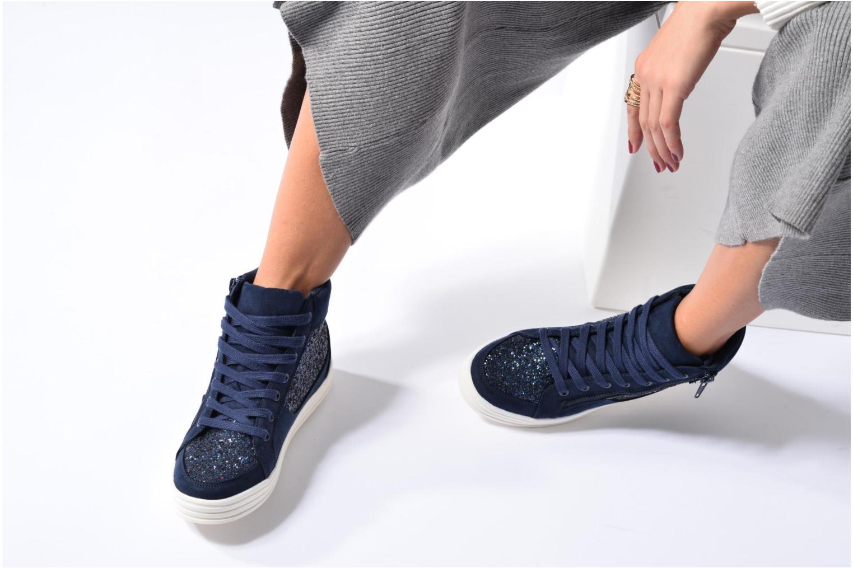 Deportivas I Love Shoes THALEP Azul vista de abajo