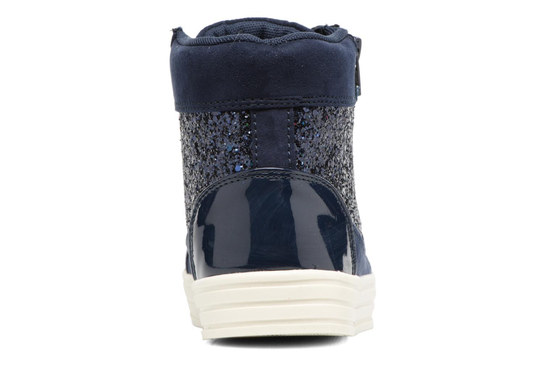 Deportivas I Love Shoes THALEP Azul vista lateral derecha