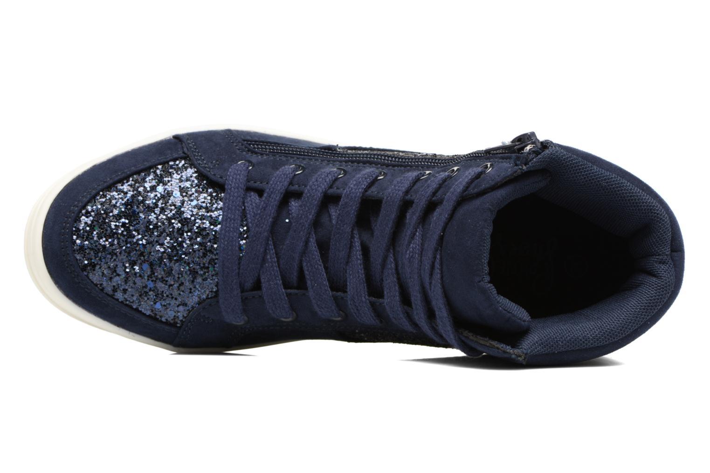 Deportivas I Love Shoes THALEP Azul vista lateral izquierda