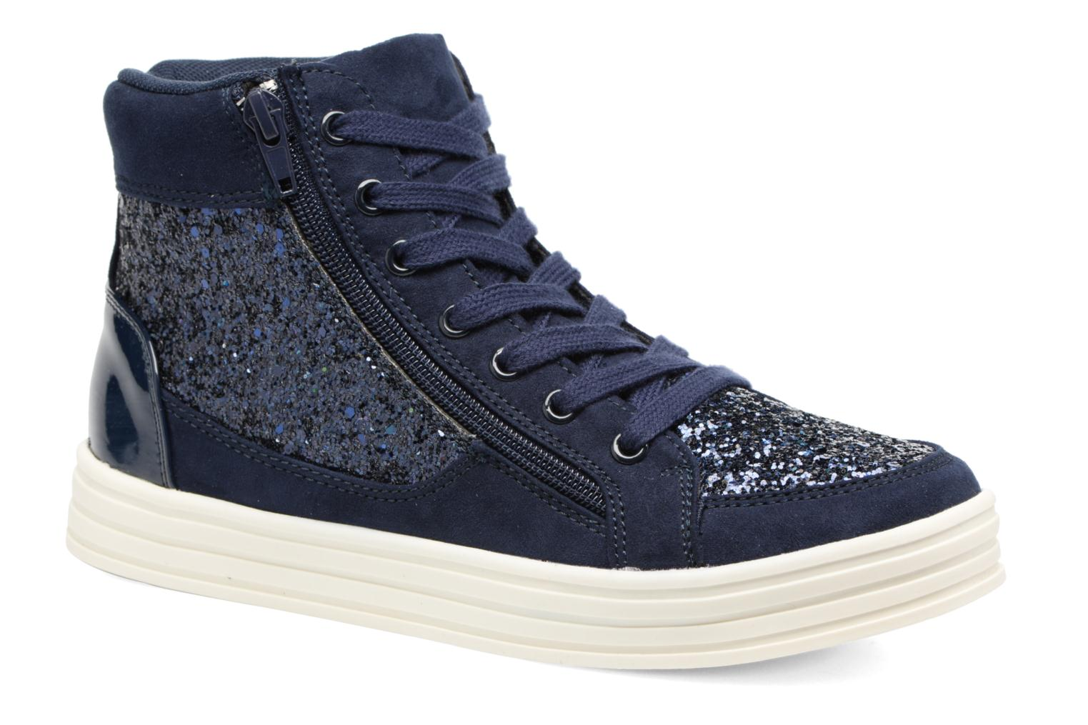 Baskets I Love Shoes THALEP Bleu vue détail/paire