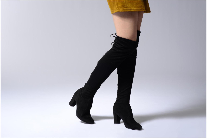 Bottes I Love Shoes THECILE Noir vue bas / vue portée sac