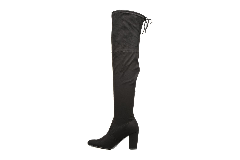 Bottes I Love Shoes THECILE Noir vue face