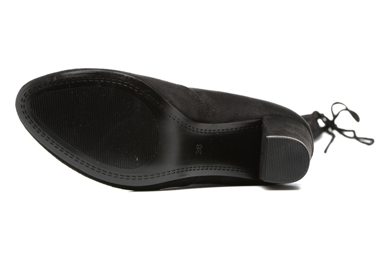 Bottes I Love Shoes THECILE Noir vue haut