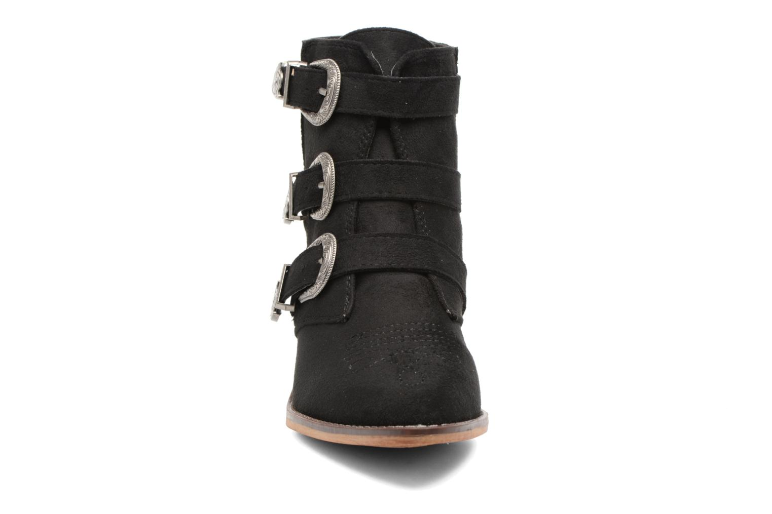 Botines  I Love Shoes THERAPI Negro vista del modelo