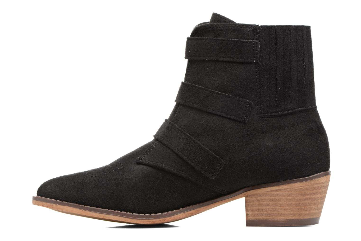 Ankle boots I Love Shoes THERAPI Black front view