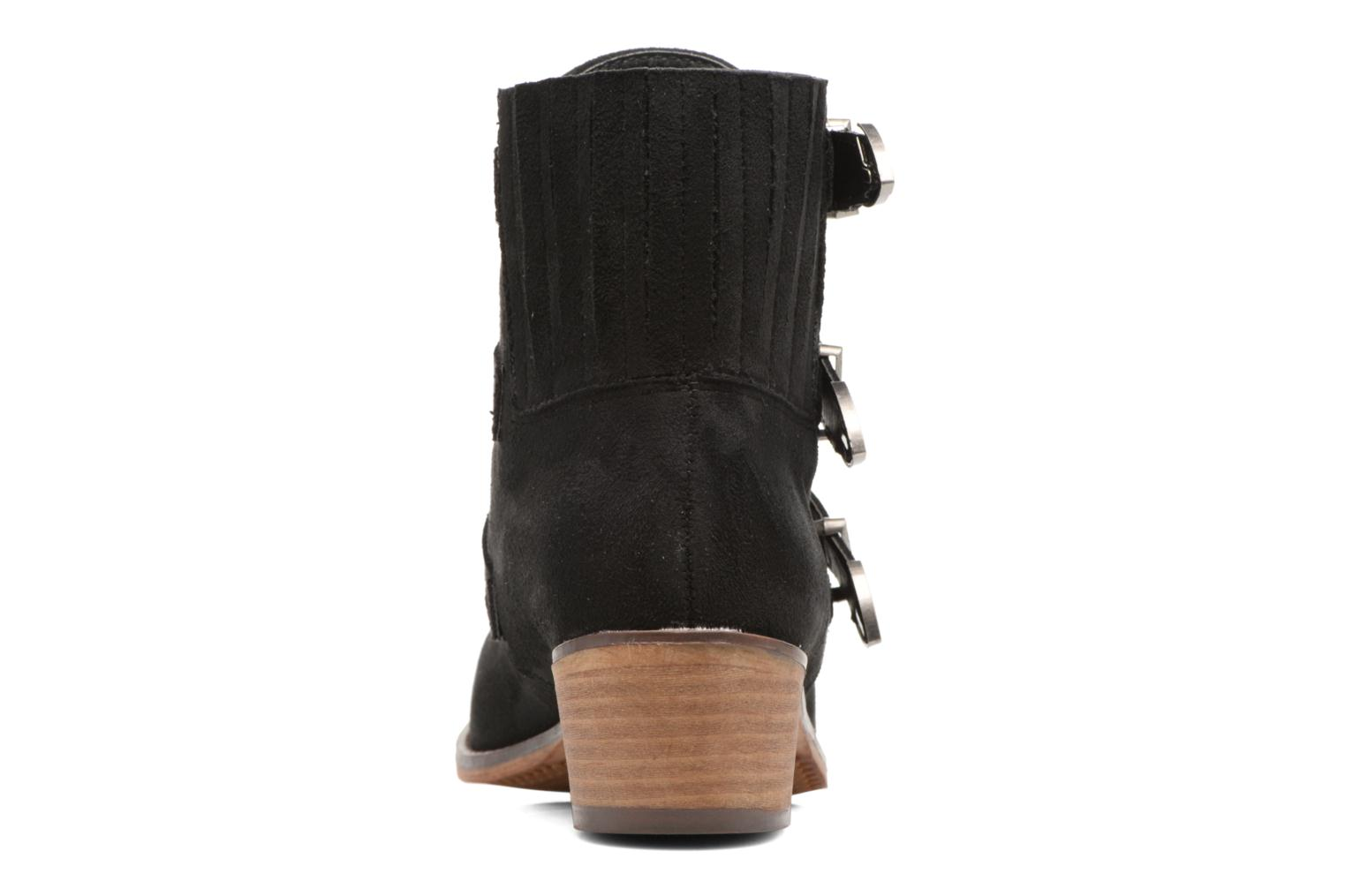 Ankle boots I Love Shoes THERAPI Black view from the right